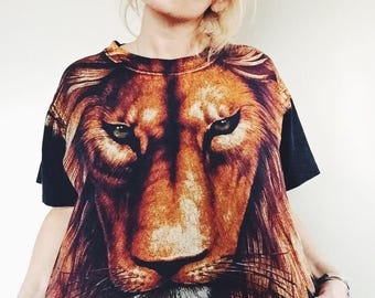 Vintage Lion T-Shirt | '90s