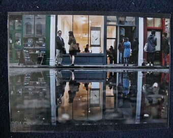 London Street Reflection Photographic print