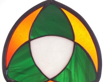 Celtic triquetra (Celtic trinity knot)
