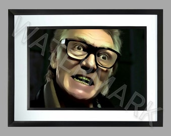Brick Top . Snatch . A3 Print . Graphic Art Poster