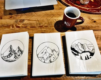 Custom Mountain Journals!