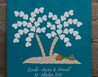 Wedding tree guestbook wedding tree Palm
