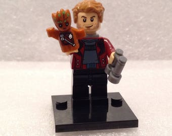 Star Lord - Peter Quill or Star Lord with Groot | Custom Made Guardians of the Galaxy Series | Compatible