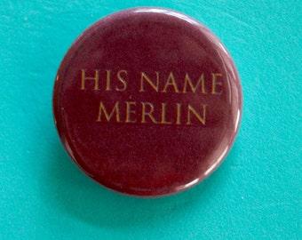 Merlin 1.25 in Button