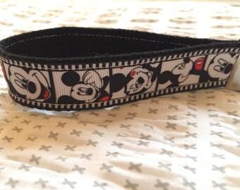 Mickey Mouse Key Fob/Wristlet