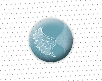 """Button """"Wing"""" 31mm"""