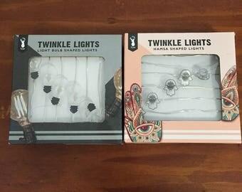 Novelty Twinkle Lights