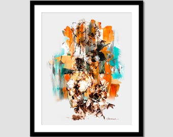 Printable Abstract painting watercolor pictures Art  Modern Painting, Acrylique Wall Art Print, Modern Art Wall Decor, INSTANT DOWNLOAD.