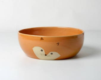 Children Bowl Fox great for soup, gifts for children