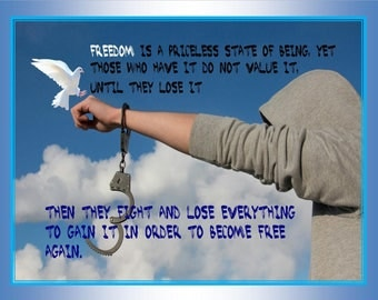 A Philosophical quote for Freedom lovers