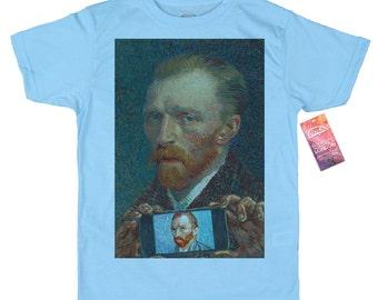 Vincent van Gogh T shirt, Self-ie-Portrait