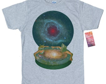 Animal Instinct T shirt, Space Collages