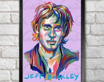 Jeff Buckley Poster Print A3+ 13 x 19 in - 33 x 48 cm  Buy 2 get 1 FREE