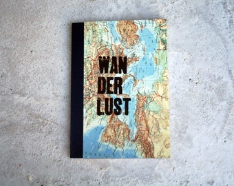 WANDERLUST DinA5 travel diary - notebook