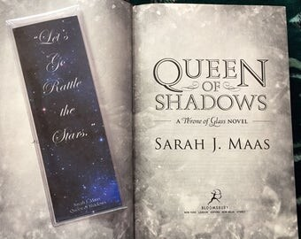 Throne of Glass Rattle the Stars Bookmark