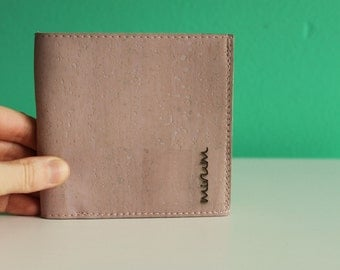 Cork leather wallet