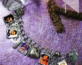 Queen Freddie Mercury    charm  Bracelet necklace