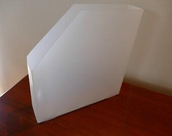 Scrapbooking paper file box