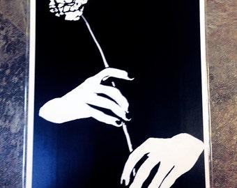 Black & White Print: Delicacy