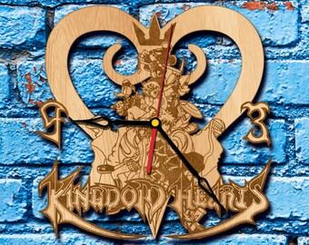 Kingdom Hearts Geekery Clock sora Birth by Sleep kingdom hearts art King Mickey organization 13 kingdom hearts cosplay keyblade Kairi Riku