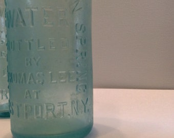Westport Mountain Spring water , bottle by Thomas Lee @ Westport NY