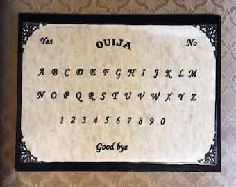 """8.5"""" x 11"""" Ouija Board"""