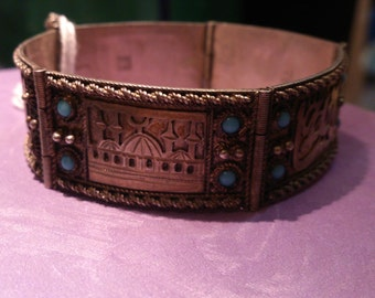 Art deco bedouin bracelet