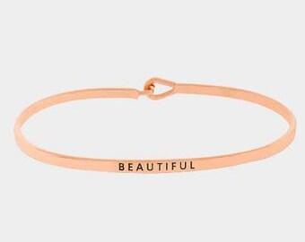 Beautiful Bracelet in Rose