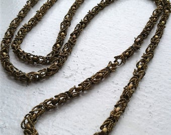 Vintage Filigree like Necklace for Creating or Wearing
