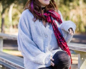 Vintage Angora & Wool Sweater