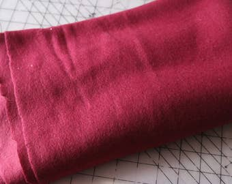 2 Maroon fleece Polar Fleece Soft Fabric 2