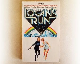 William F Nolan - Logan's Run - Corgi science fiction vintage paperback book - 1976