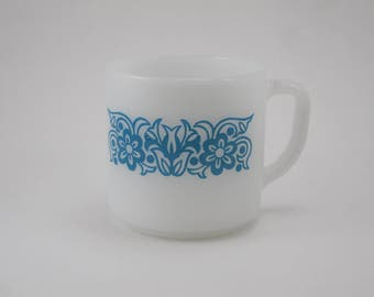 Federal Milk Glass Mug