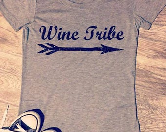 Wine Tribe Short Sleeve Tee