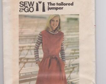 Butterick 5540 / Misses' Jumper / Size 14 / 70's Vintage Sewing Pattern