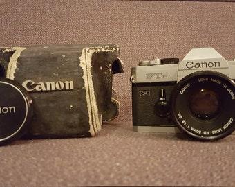 Vintage Canon FTb (QL)