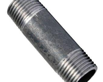 Nipple black cast iron 60MM (15/21 20/27 26/34, 33/42)