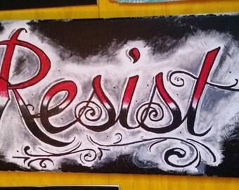 Resist Acrylic Original