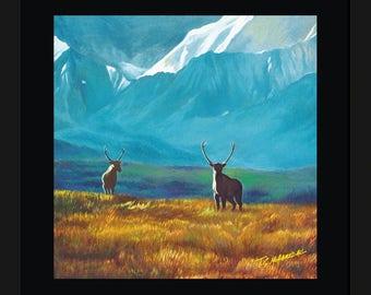Wall decor - Deers