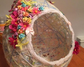 Handmade Basket/Centerpiece