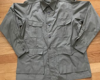 Vintage Mens LL.Bean Safari Jacket Size 40 In Immauclate Condition MUST SEE!