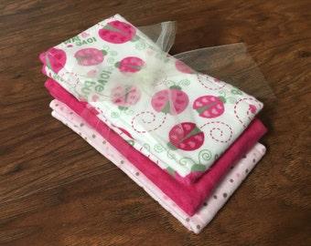 Cloth Diaper, Prefold Diaper w/ Microfiber, Reusable Diaper, Burp Cloth, Trifold Microfiber Soaker Booster, Baby Branch Boutique