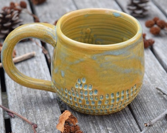 Imprinted Green Mug II