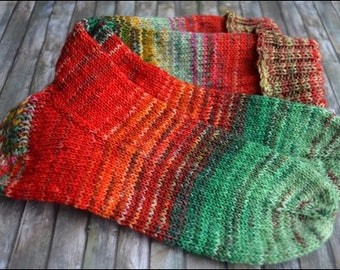 handknitted socks women size 4-5