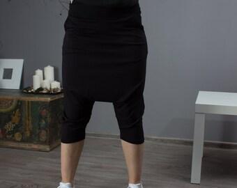 Black Pants / Oriental Pants / Extravagant Pants / T020203