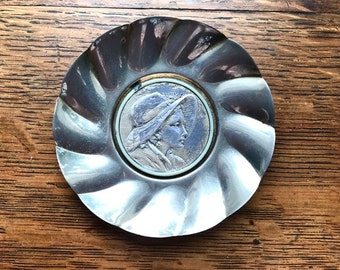 Vintage bonbon dish, silver plated, from the twenties