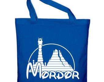 Mordor fun LOTR fabric cotton bag