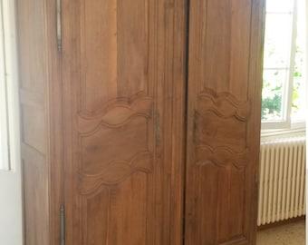 Vintage get very old, antique, fine Cabinet, Oak cupboard,