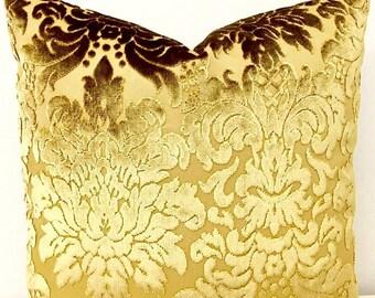 gold velvet pillow cover gold pillow velvet pillow luxury pillow