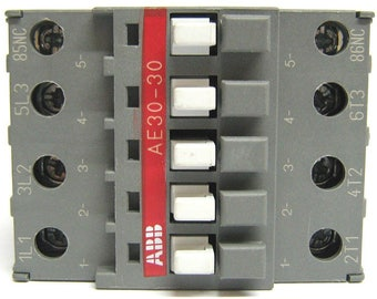 Contactor ABB 24Vdc model AE 30-30